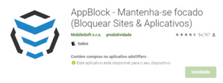 AppBlock - Boqueio de aplicativos, sites e palavras-chave. Logo_a10