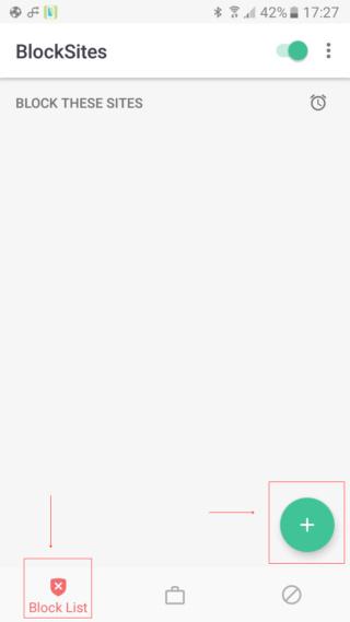 Bloqueadores para Android Screen19