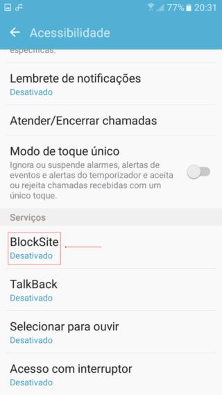 Bloqueadores para Android Screen20