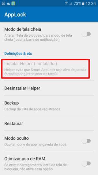Bloqueadores para Android Seleci10