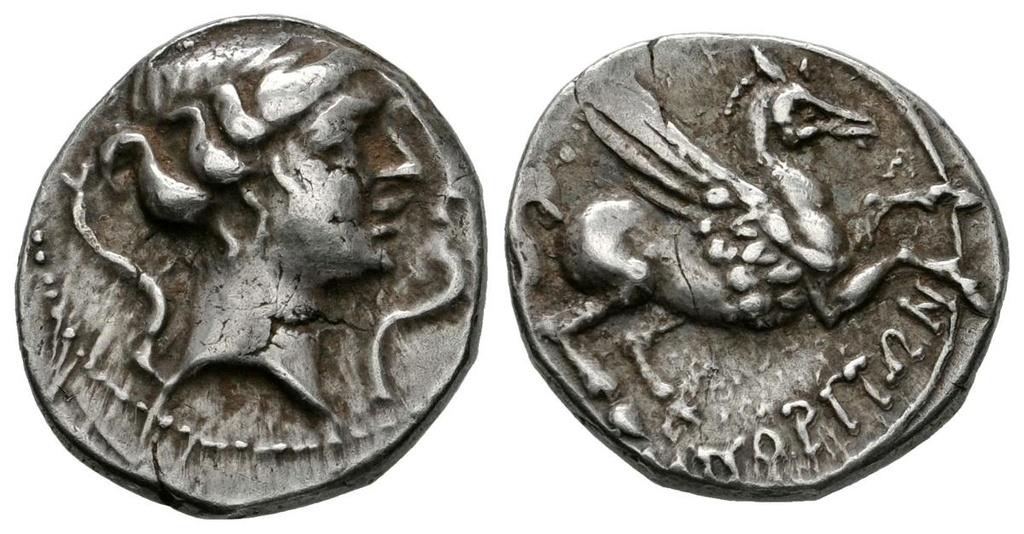 Dracma de Emporiton (220-150 a.C.) Ampurias (Girona) 116_110