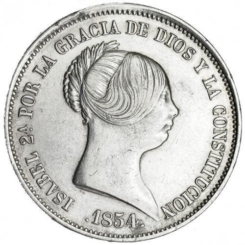 20 reales Isabel II Madrid 1836 Ensayadores: CR. José Luis Castroviejo e Isidro Ramos del  1_410