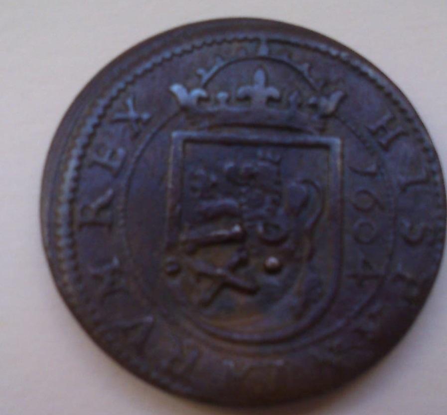 8 MARAVEDÍES FELIE III 1604 CECA DE SEGOVIA Y RESELLO A XII DE GRANADA 20008c10
