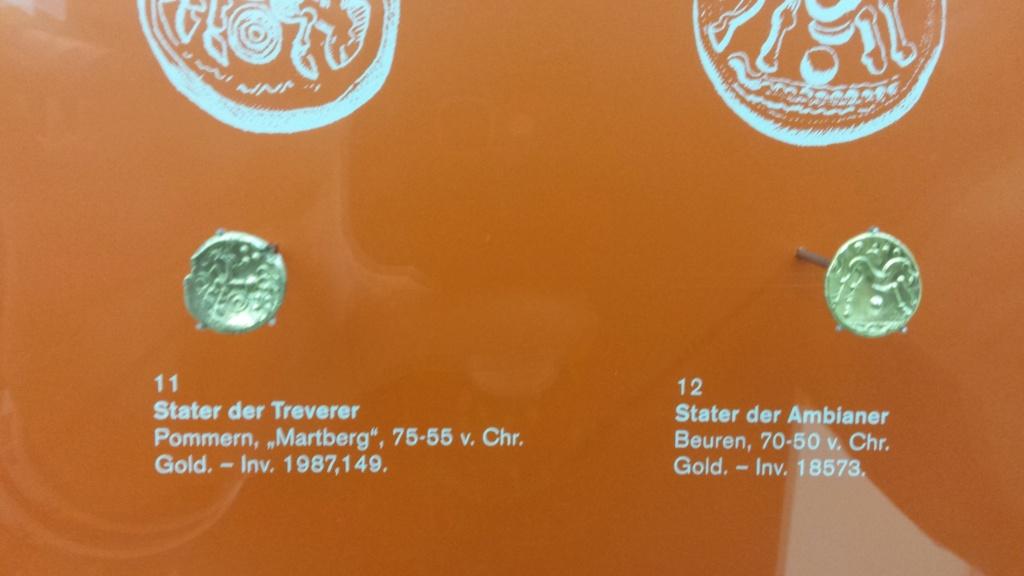 Museo Trier Alemania (seccion numismatica) 20150911