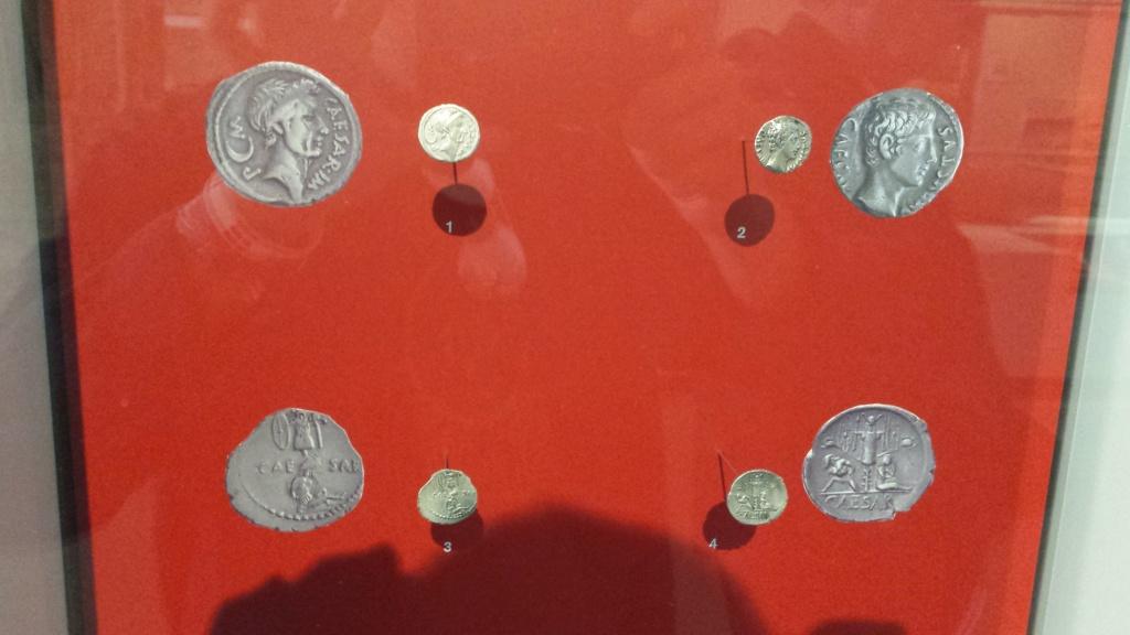 Museo Trier Alemania (seccion numismatica) 20150913