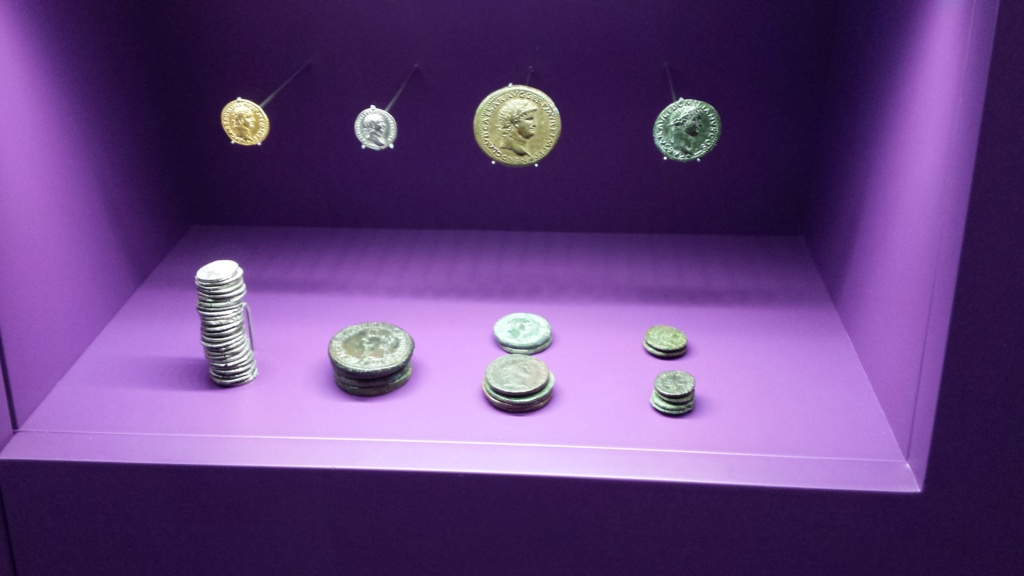 Museo Trier Alemania (seccion numismatica) 20150925
