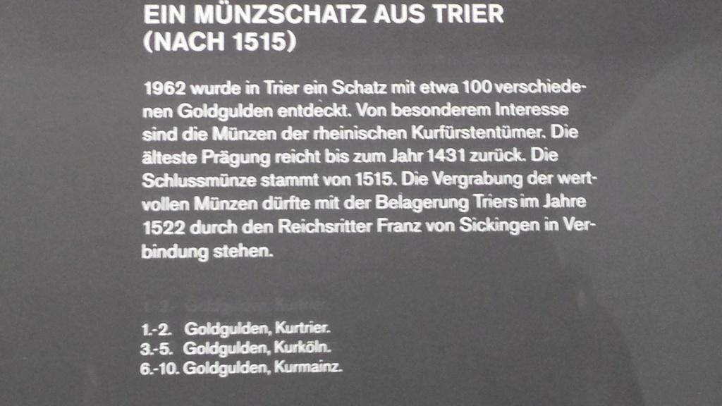 Museo Trier Alemania (seccion numismatica) 2 20150951