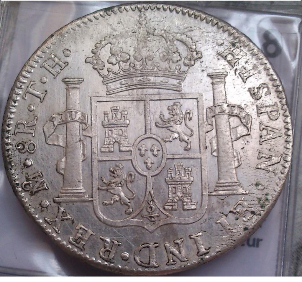 8 reales 1809. Fernando VII. México. TH. (BUSTO IMAGINARIO) 212