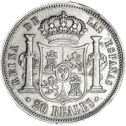 20 reales 1854. Isabel II. Madrid - Página 2 215