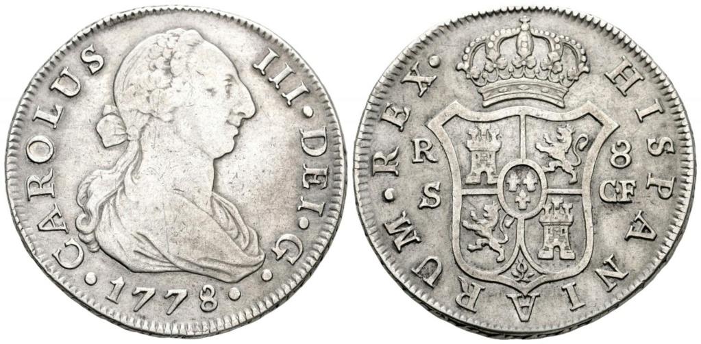 CARLOS III. 8 Reales. 1778. Sevilla  41745010