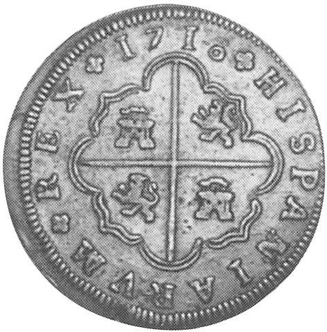 8 reales de Felipe V 1718, Sevilla 8-real10