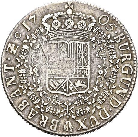 Philip V, patagon 1705, amberes A62cbb10