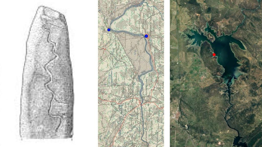 El Stonehenge español esconde un menhir con un posible mapa milenario del Tajo Actual10