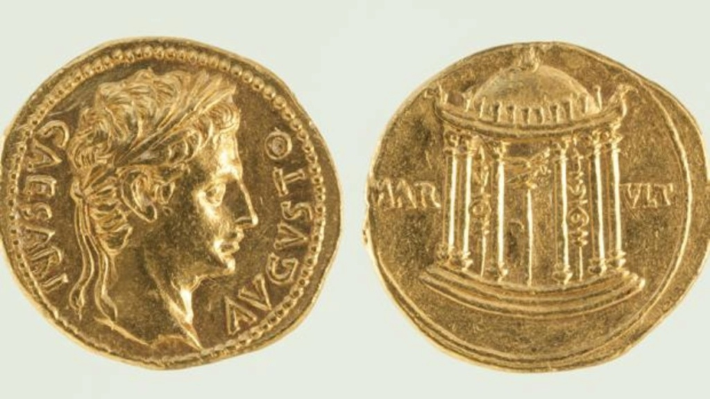 Córdoba romana | Un tesoro de una sola moneda de oro Aureos10