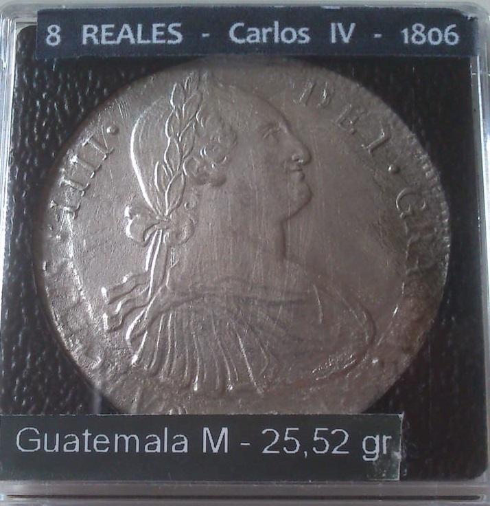 8 REALES – Carlos IV – Nueva Guatemala-1806 – ¿(Naufragio de 1810 cerca de Ft Pierce – Florida)? - Página 2 C_iv_p12