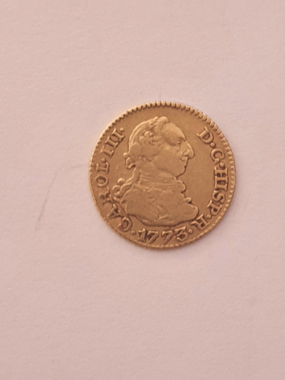 Monedas del año 1755-1758-1759-1773-1775. Carol-11