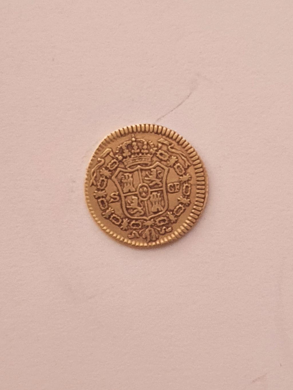 Monedas del año 1755-1758-1759-1773-1775. Carol-12