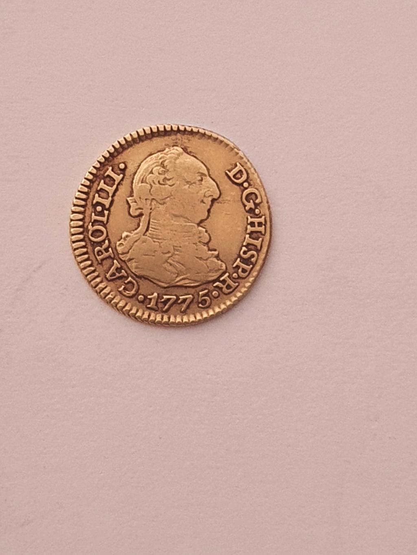 Monedas del año 1755-1758-1759-1773-1775. Carol-13
