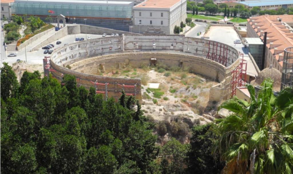 El Anfiteatro de Cartagena Desentierra la Cámara de Gladiadores Cartag11