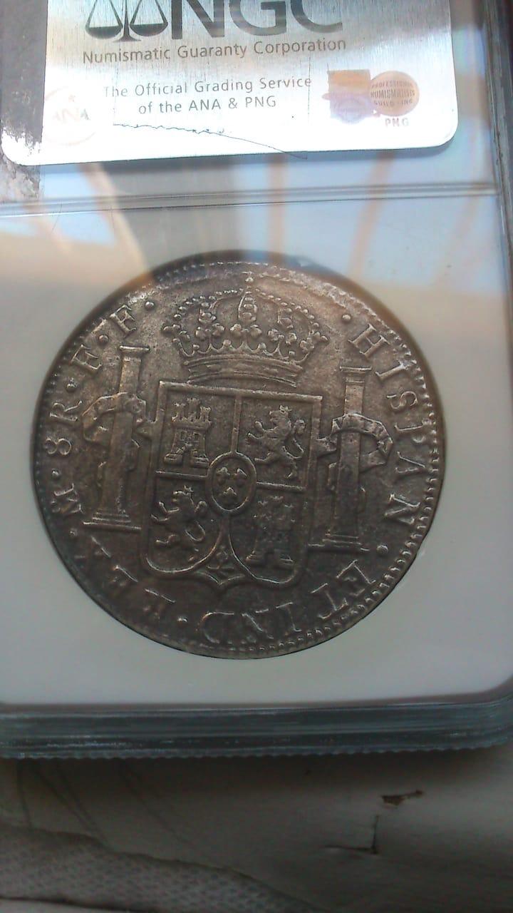 8 REALES CARLOS III CECA DE MÉXICO 1783 PECIO EL CAZADOR.  - Página 2 D215a210