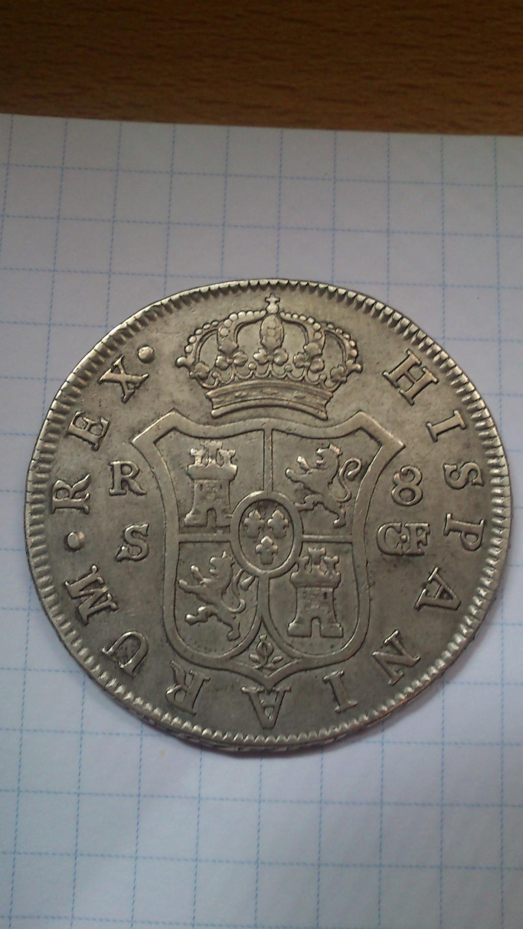 CARLOS III. 8 Reales. 1778. Sevilla  Dsc_0011
