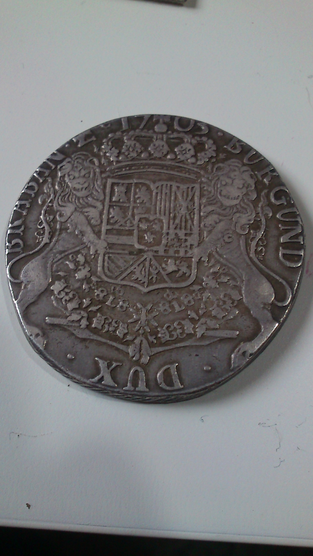 DUCATON  de Felipe V Brabante (Amberes) 1703 Dsc_0028