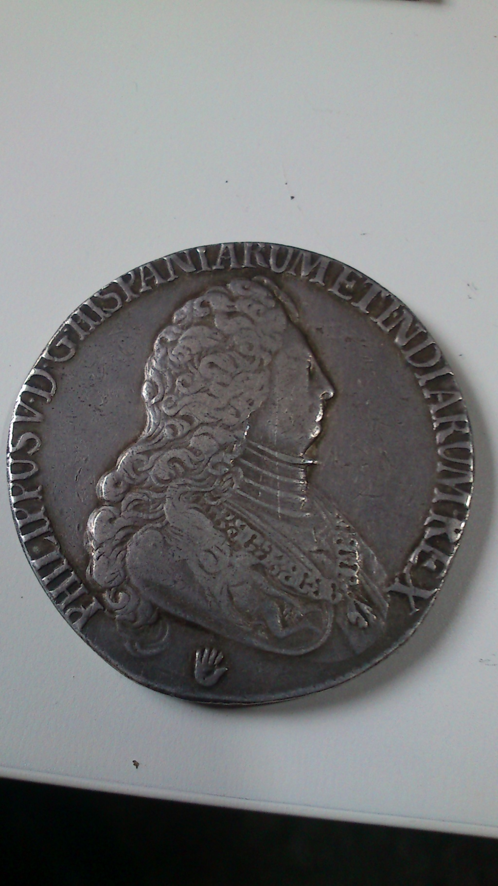 DUCATON  de Felipe V Brabante (Amberes) 1703 Dsc_0029