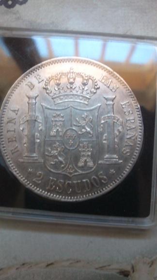 2 escudos 1867. Isabel II. Madrid Dsc_0042