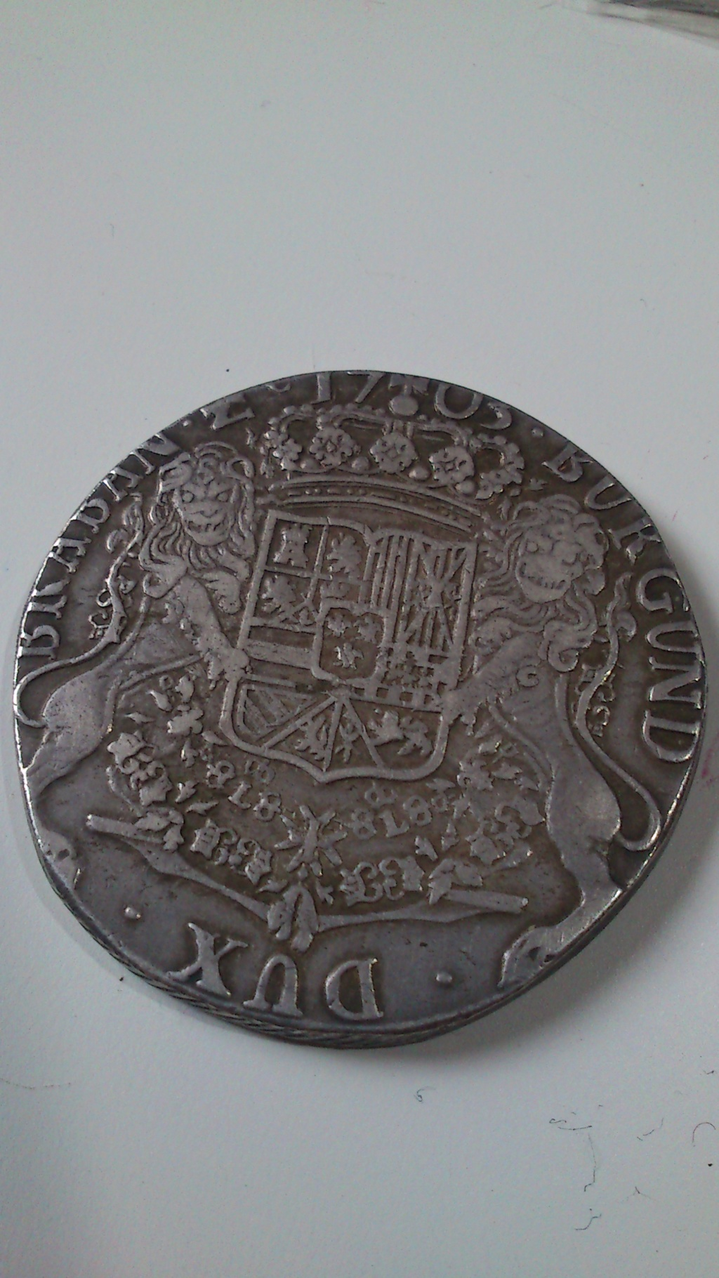 DUCATON de Felipe V Brabante (Amberes) 1703 Dsc_0068