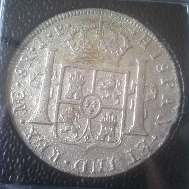 8 Reales Carlos IV 1805 Lima MAE - JP - posible cuban water wreck pecio o naufragio( DEDICADO AL AMIGO INSULARVM) Dsc_0081