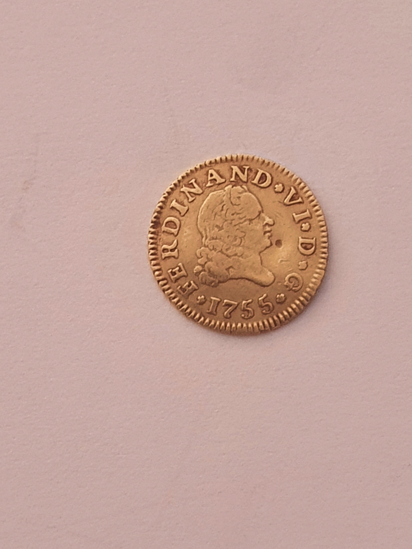 Monedas del año 1755-1758-1759-1773-1775. Fernan11