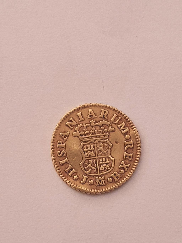 Monedas del año 1755-1758-1759-1773-1775. Fernan12