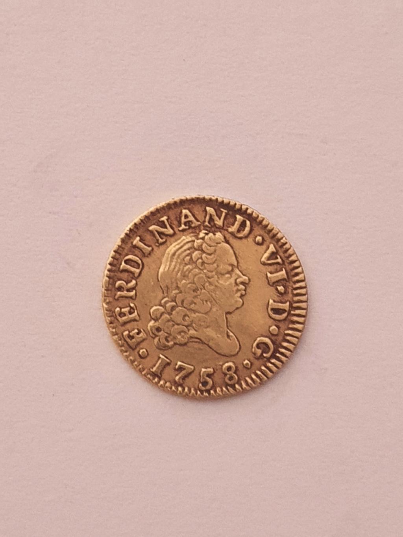 Monedas del año 1755-1758-1759-1773-1775. Fernan14