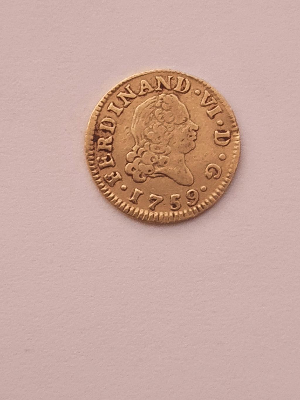Monedas del año 1755-1758-1759-1773-1775. Fernan18
