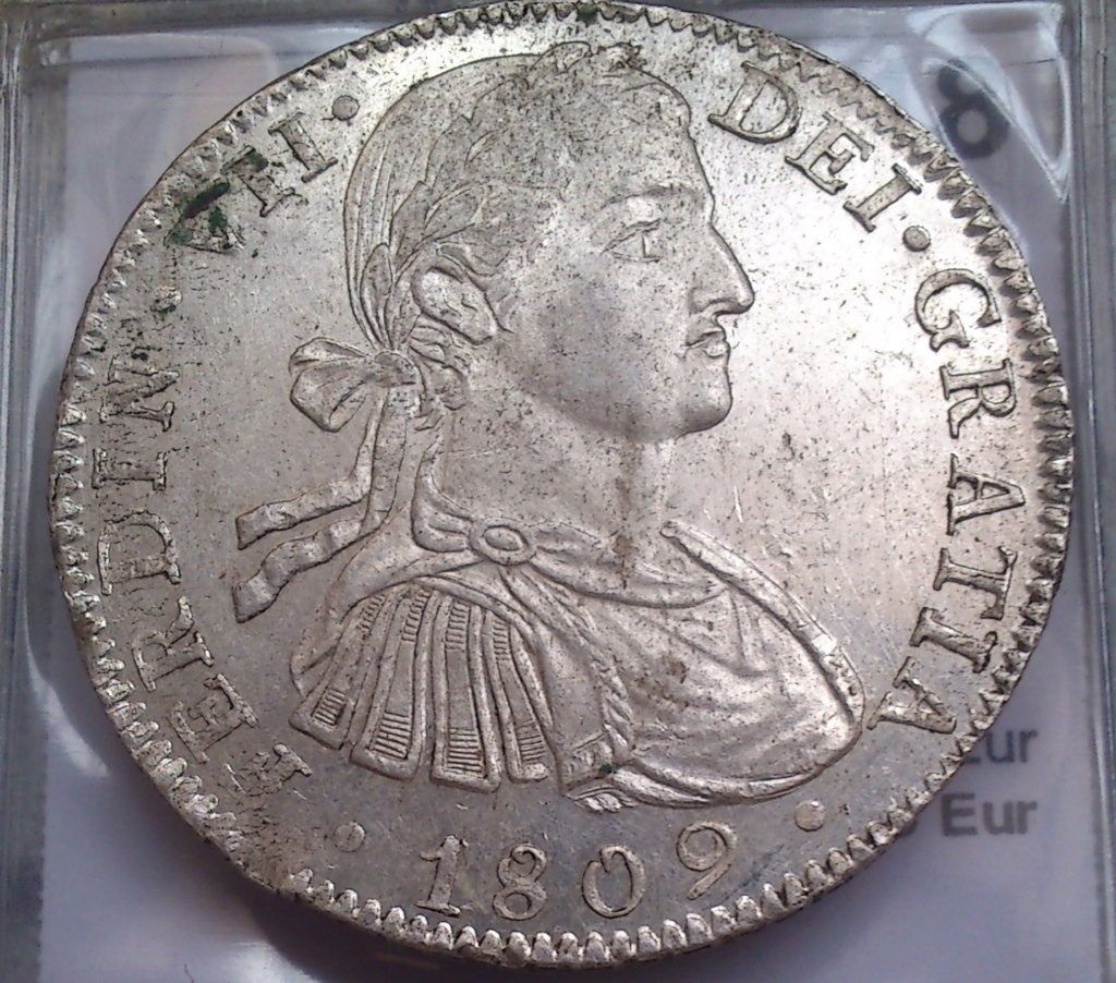 8 reales 1809. Fernando VII. México. TH. (BUSTO IMAGINARIO) Img-2071