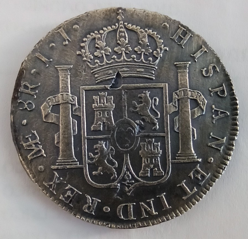 8 Reales 1800 Lima, procedentes de la Fragata Santa Leocadia Img-2074