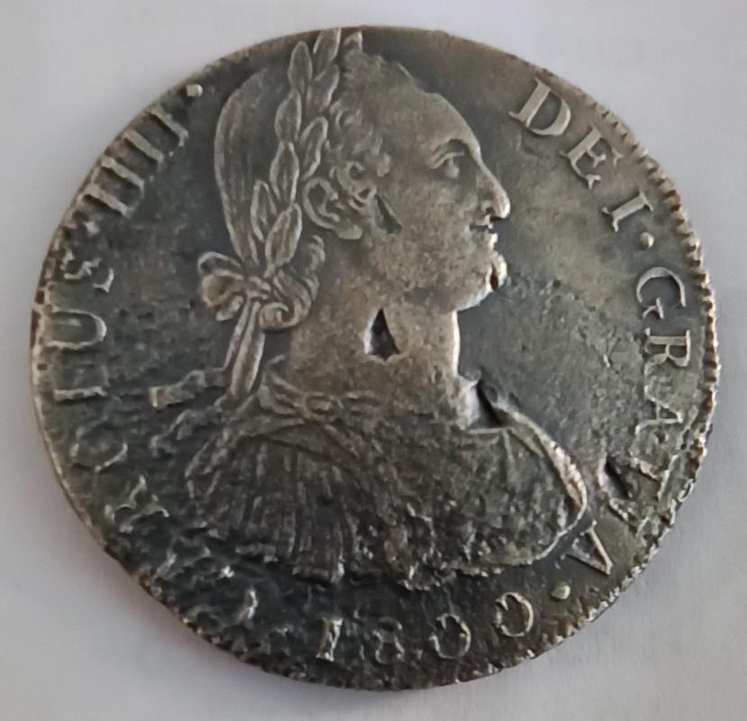 8 Reales 1800 Lima, procedentes de la Fragata Santa Leocadia Img-2075