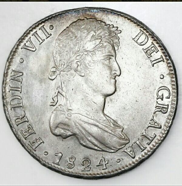 8 reales 1824. Fernando VII. Potosí Img_2010