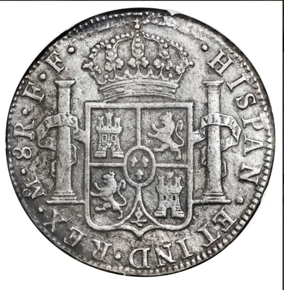 8 REALES CARLOS III CECA DE MÉXICO 1783 PECIO EL CAZADOR.  Img_2017