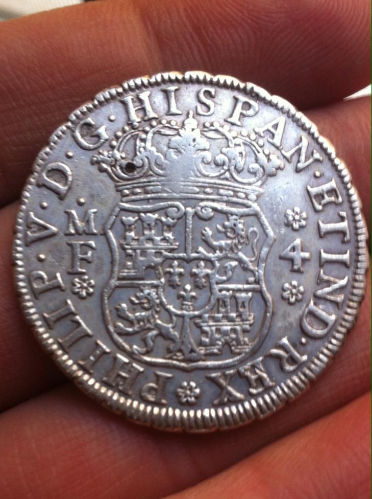 4 reales (medio duro) de 1738. Felipe V, ceca de Mexico MF La_fot10