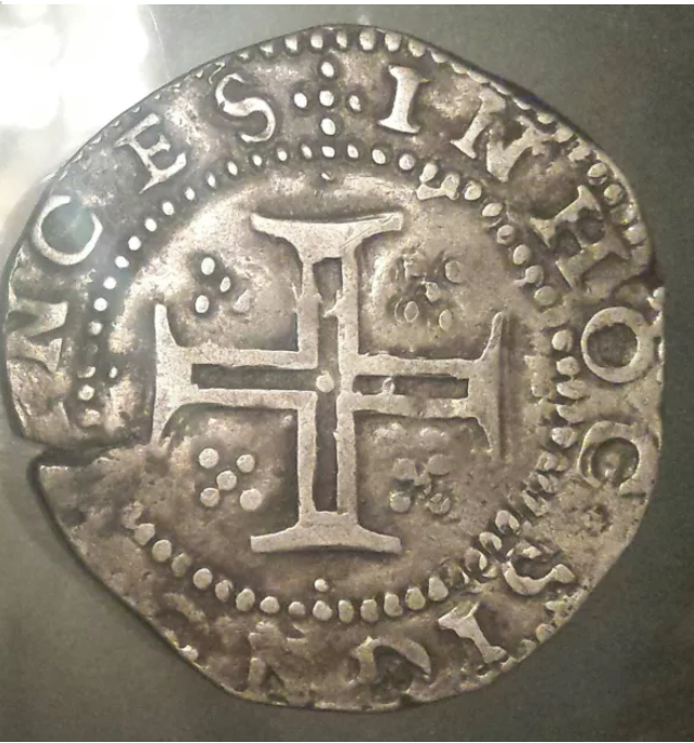 Tostão de Felipe II de Portugal (III de España). La_fot10