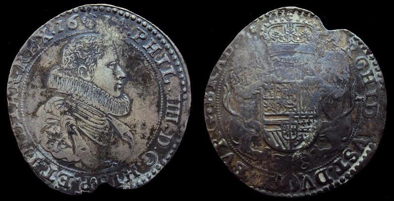 Ducatón de Felipe IV. 1634. Bruselas Ntghtr10