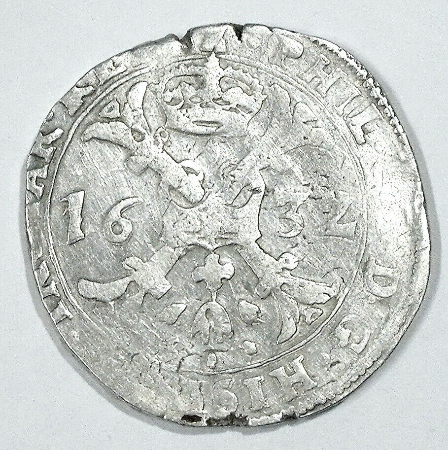 Patagón de Felipe IV, 1632, Tournai Patago10