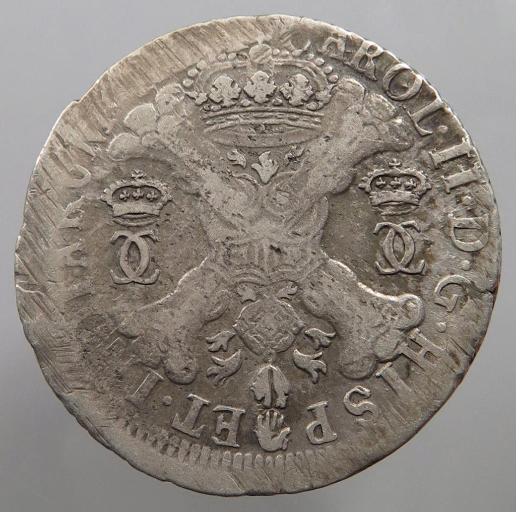 Patagon Carlos II ceca Amberes. S-l16016