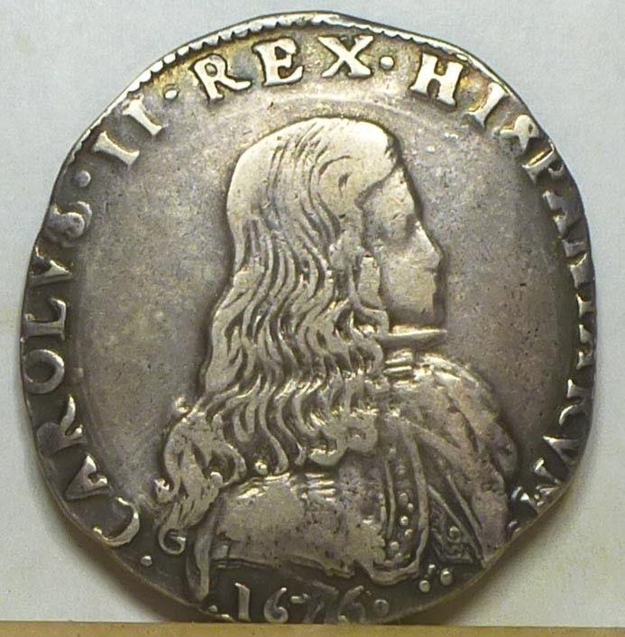 Italia Milan Filippo CARLOS II 1676 S-l16018