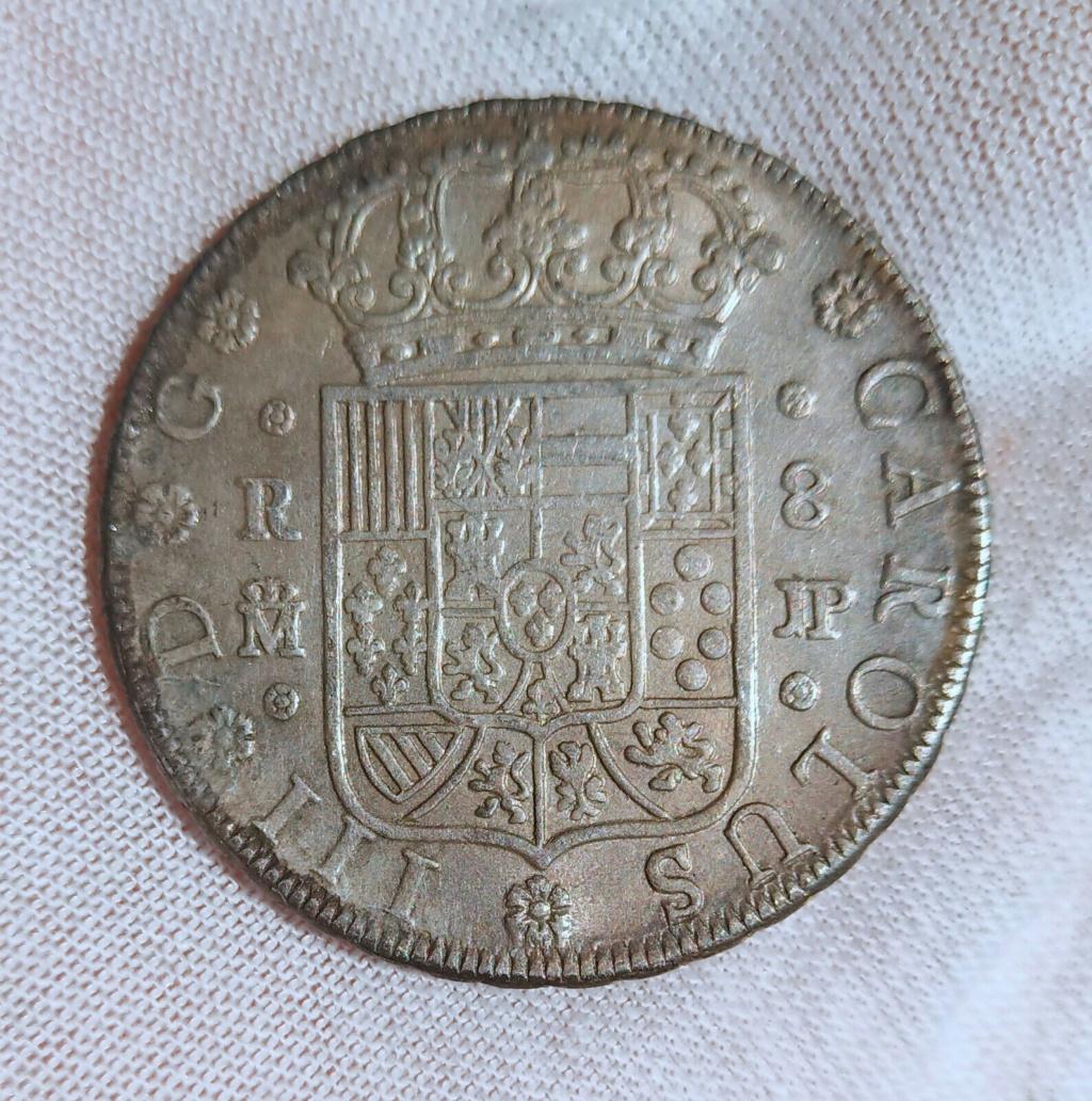 OTRO CLON DE 8 REALES CARLOS III 1762 MADRID S-l16049