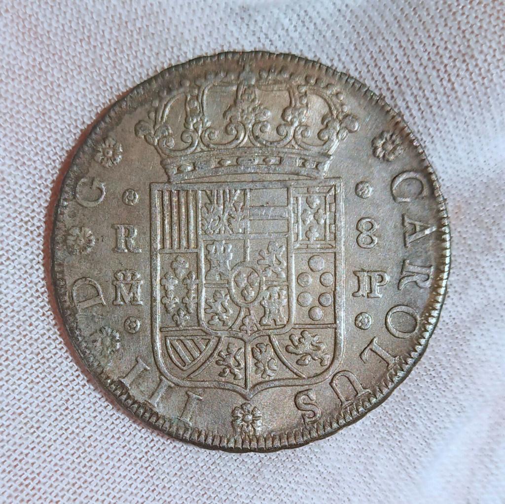 OTRO CLON DE 8 REALES CARLOS III 1762 MADRID S-l16050