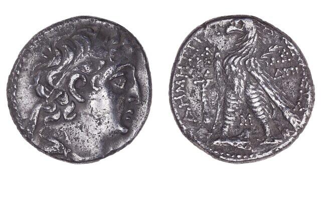 Rara moneda hallada durante conservación de la Torre de David Tyre-c10