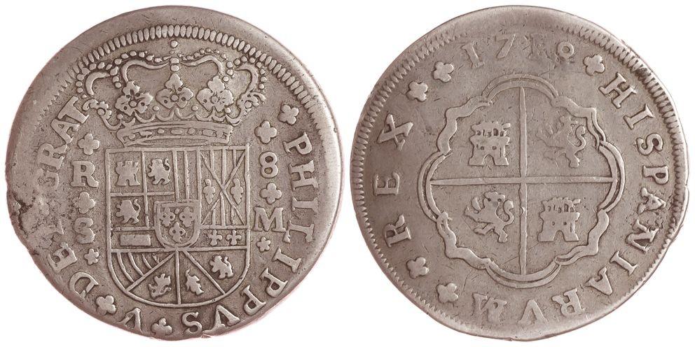 8 reales de Felipe V 1718, Sevilla Untitl11