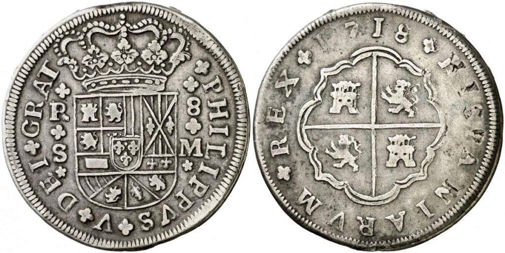 8 reales de Felipe V 1718, Sevilla Untitl12